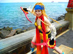 Thief Rikku on Beach