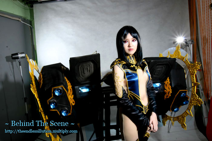 Behind The Scene : Isis II by pinkyluxun