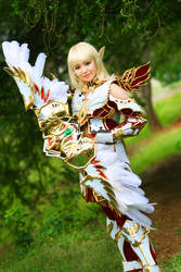 Dynasty Bow Master III by pinkyluxun