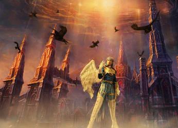 The Kamael Heaven by pinkyluxun