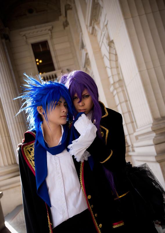 Dragon Kaito and Gakupo by pinkyluxun
