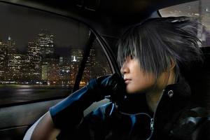 Noctis Lucis Caelum : On Car by pinkyluxun