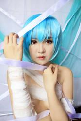 Ayanami Rei : Bandaged by pinkyluxun