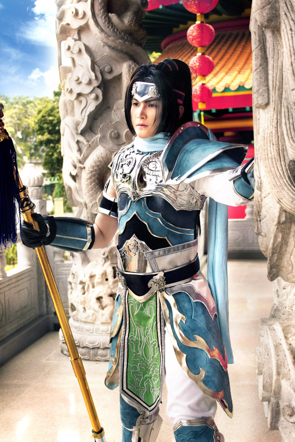 Dynasty Warriors 7 : Zhao Yun by pinkyluxun