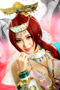 Dynasty Warriors 8 : Diao Chan Close Up