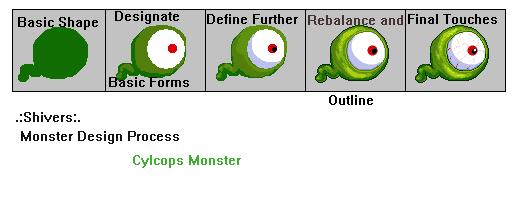 Monster Pixel Art Tutorial by faeryshivers