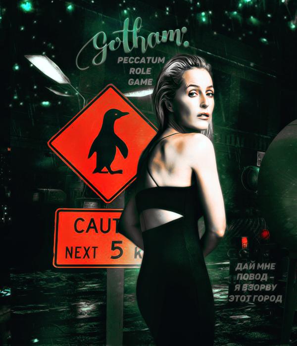 Avatar rpg Gotham (Gillian Anderson) by shezoya