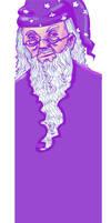 Dumbledore bookmark