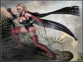 -Red Tigress- by ken1171