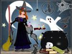 -Gothic Witch Madoka-