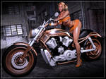 -Sexy Golden Rider- by ken1171