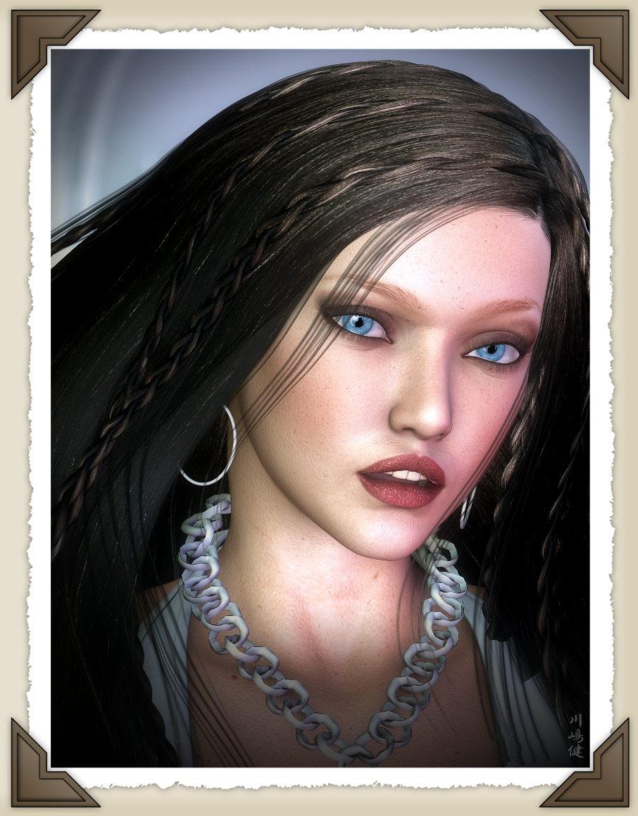 -Sensuous Tina Portrait- by ken1171