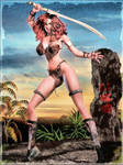 -Red Sonja Sketch-