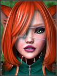 -Portrait of Leonah Kiss-
