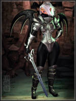 -Witchcraft Warrior- by ken1171