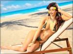 -Sybil on Beach-
