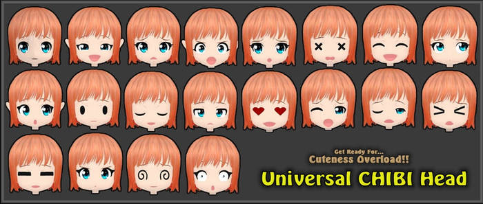 ~Universal Chibi Head [Released]~