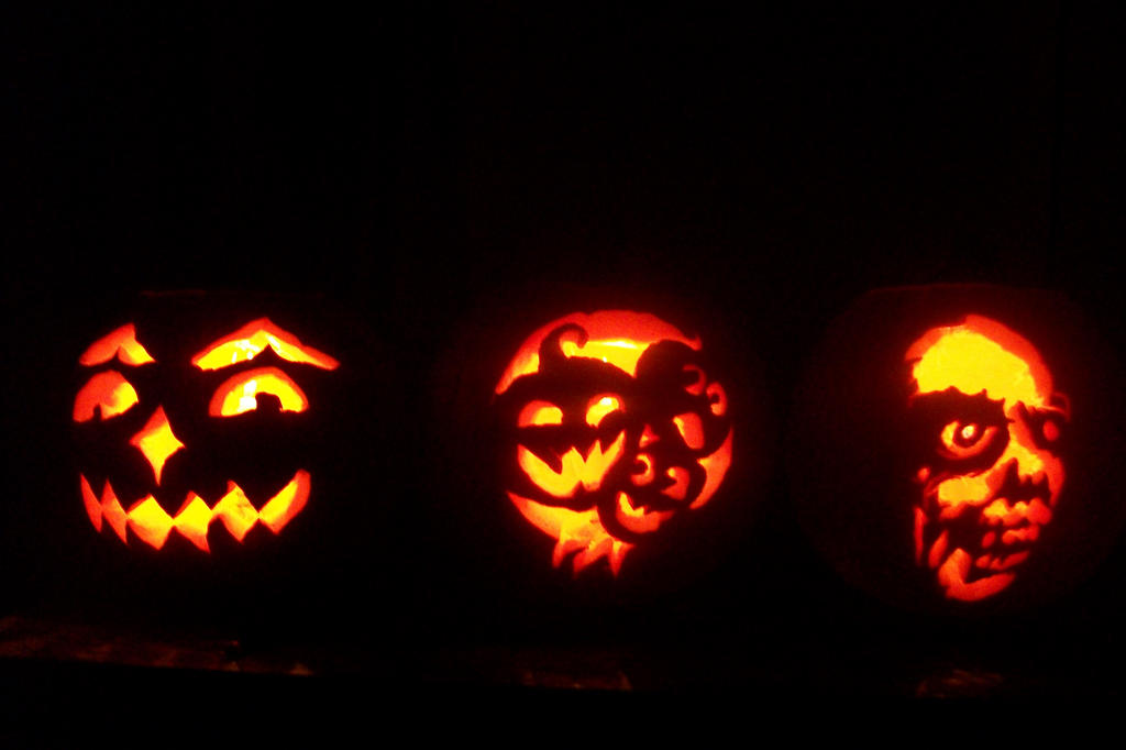 Jack-o-Lanterns 2014 by KiraUchiha666