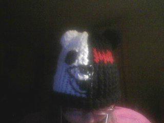 Monobear Hat Almost Done by KiraUchiha666