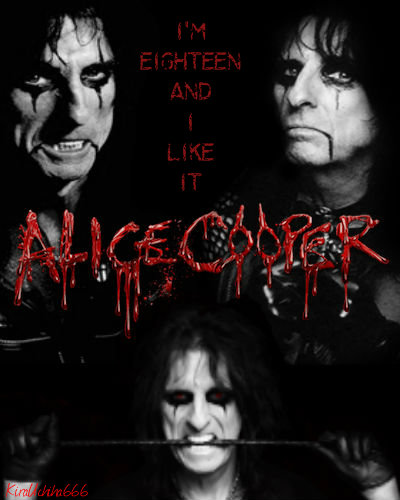 Alice Cooper by KiraUchiha666