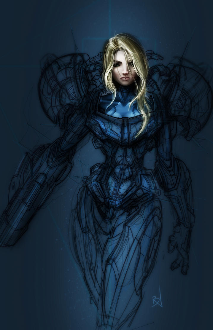 Samus by GirlsandBots