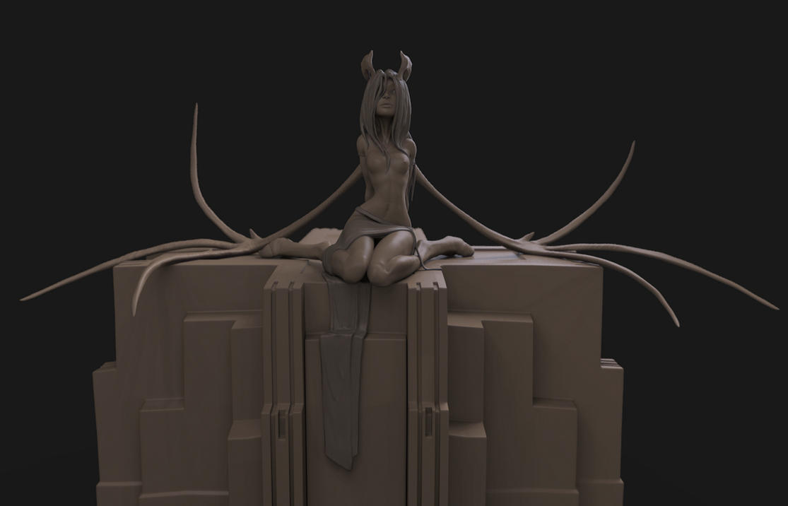 WIP_Lilith by GirlsandBots