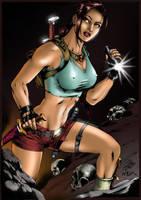 Lara Croft by Marcio Abreu by nexcolors