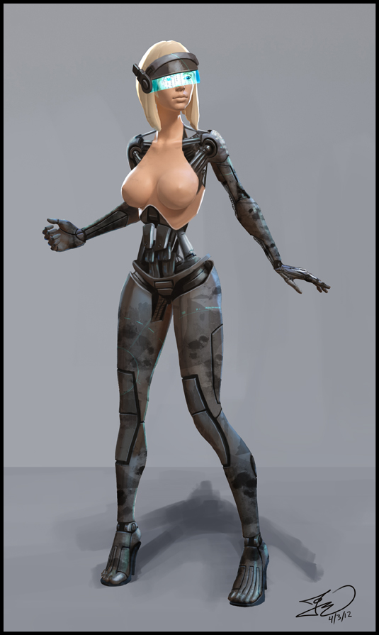 Cyborg by Tomahawk-Monkey