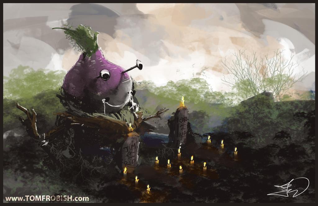 Veggie Golem by Tomahawk-Monkey