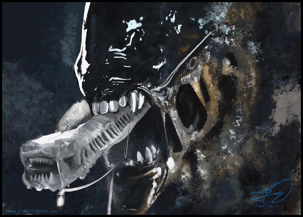 Alien_Drawlloween by Tomahawk-Monkey