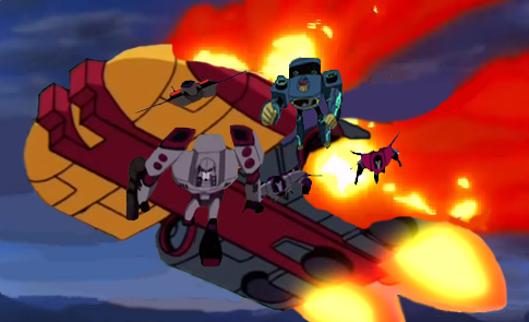 Decepticons attack by du365