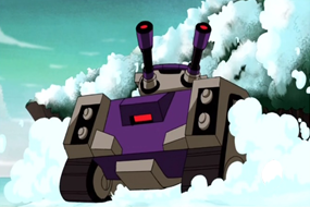 Blitzwing aims at Hot Rod - 89 by du365