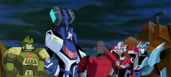 In other words Perceptor, we're outnumbered by du365