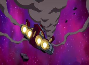 Damaged Autobot shuttle by du365