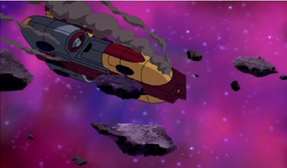 Damaged Autobot shuttle 2 by du365