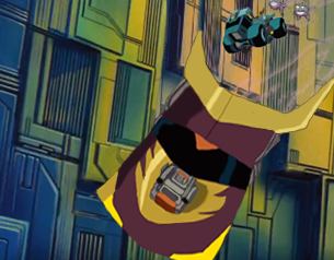 Hot Rod and Kup chased by the Sharkticons by du365