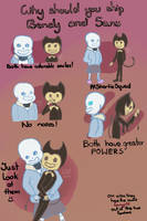 Why Should you ship Bendy x Sans by I-SHIP-BENDY-X-SANS