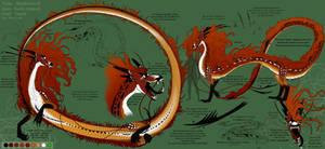 A Serpent named Wolf