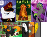 A few pony badges