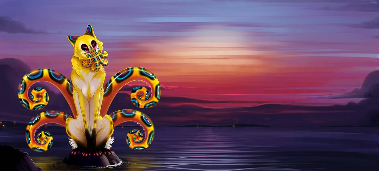 Octopus Dog by Shadowwolf