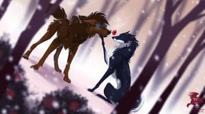 Winter Rose by Shadowwolf