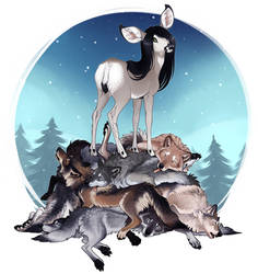 The Deer Lord by Shadowwolf