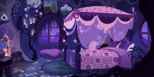 Earth Angel's Room by Shadowwolf