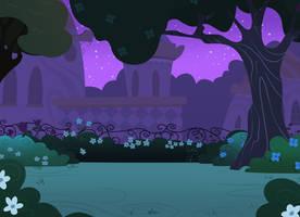 Canterlot Gardens Background by Shadowwolf