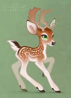 Charming Deerb by Shadowwolf