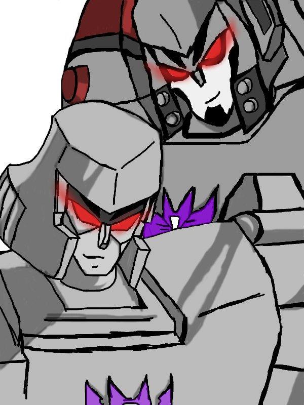 two megatron by tfgirl