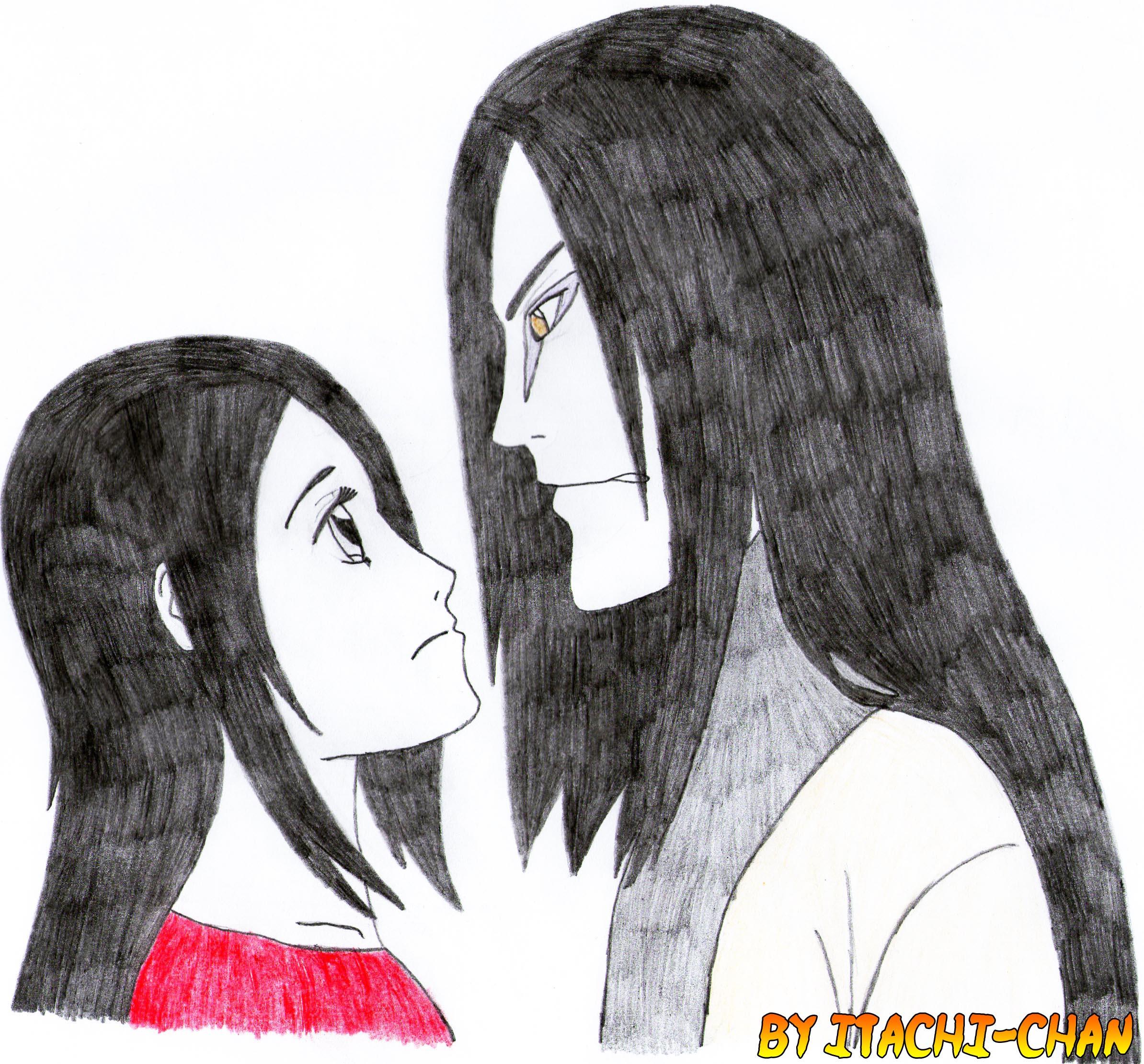 Hi, my former teacher Orochimaru-sama... by Gokumi