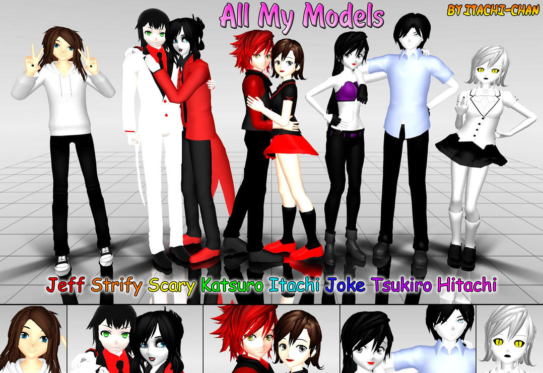 All My Models + BIO by Gokumi