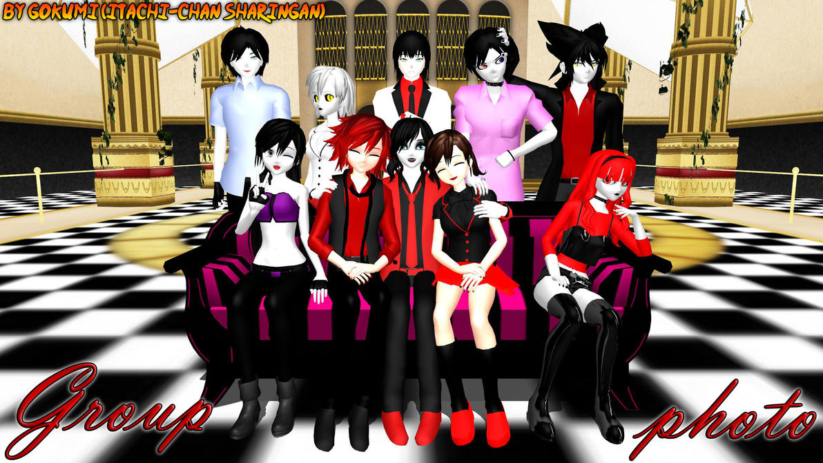 Group photo by Gokumi
