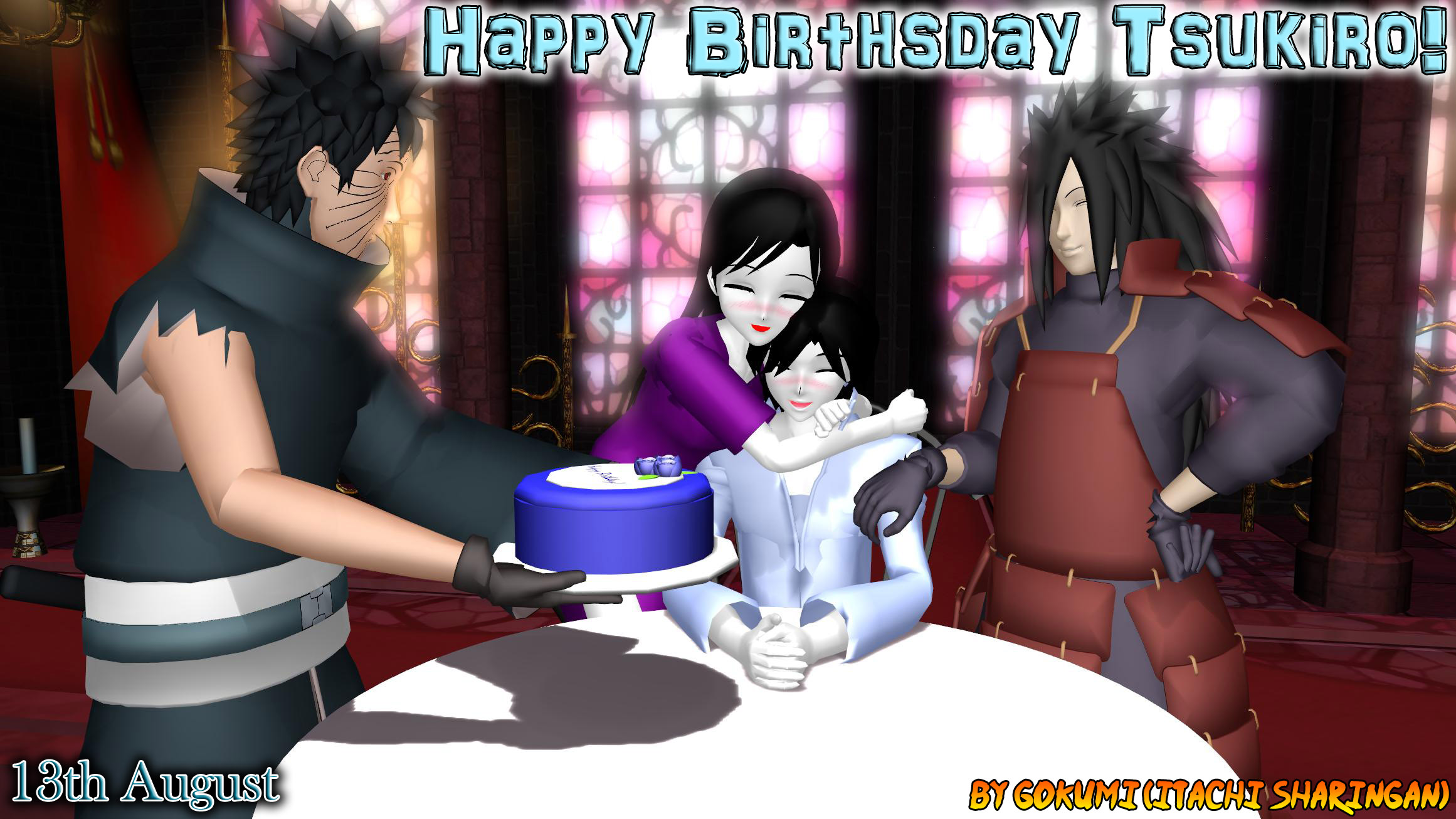 Happy Birthsday Tsukiro! by Gokumi